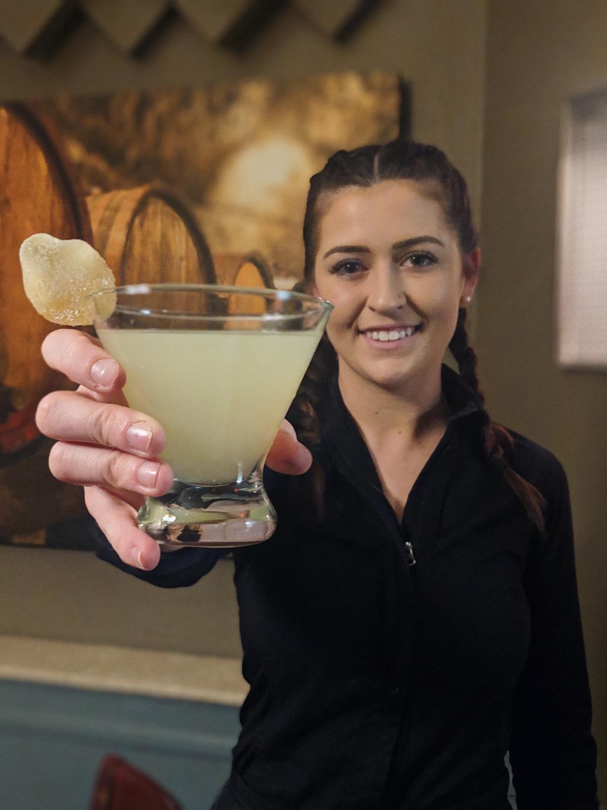 Ginger Drop Martini