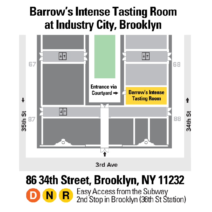 Barrow's Intense Tasting Room